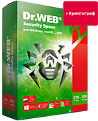 Dr.Web Security Space + криптограф